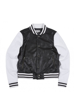 Shoptiques Product: Baseball Varsity Jacket