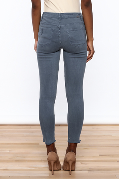 Tractr High Rise Blue Jeans - Alternate List Image