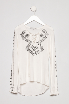 Tractr Embroidered Print Longsleeve - Product List Image