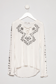 Tractr Embroidered Print Longsleeve - Product Mini Image