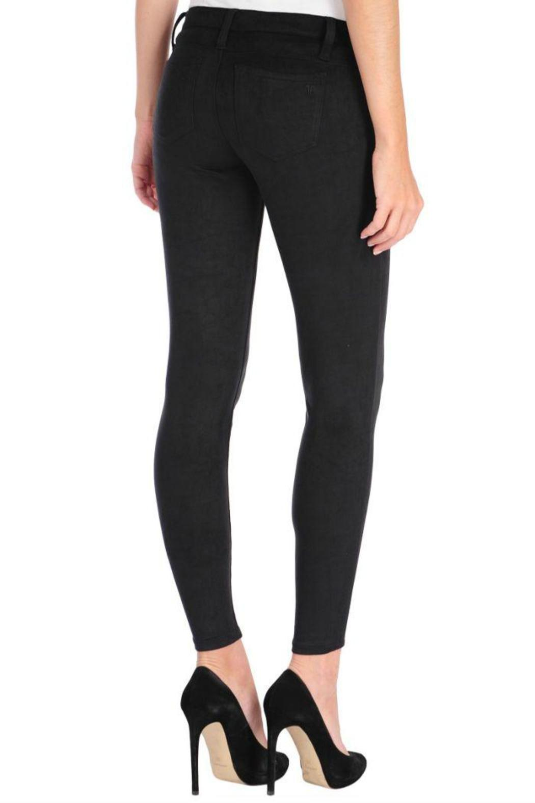 Tractr Faux Suede Pants - Side Cropped Image