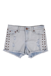 Tractr Fray Hem Shorts - Product Mini Image