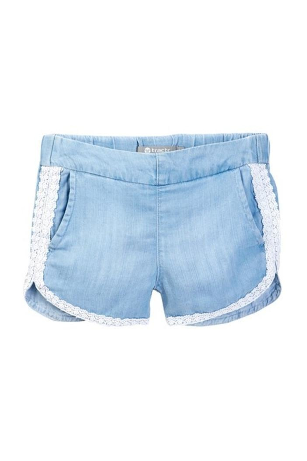 Tractr Lace Shorts - Main Image
