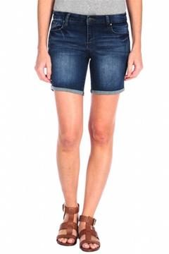 Tractr Mid Thigh Bermuda Shorts - Product List Image