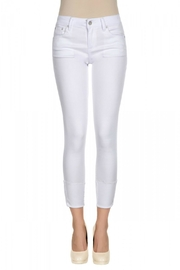 Tractr Midrise Cuff Jean - Front cropped