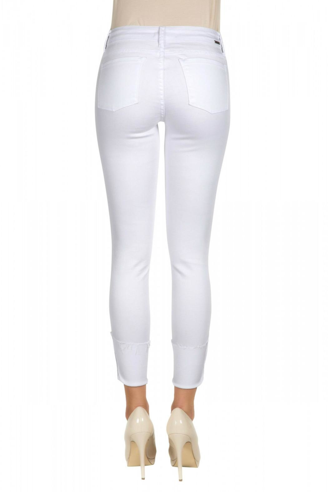 Tractr Midrise Cuff Jean - Side Cropped Image