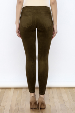 Tractr Faux Suede Leggings - Alternate List Image