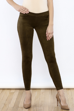 Tractr Faux Suede Leggings - Product List Image