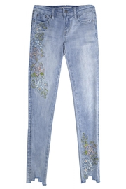 Tractr Blu Pastel Embroidered Jean - Product Mini Image