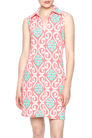 Tracy Negoshian  Coral Collared Dress - Product Mini Image