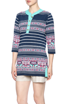 Shoptiques Product: Striped Tunic Top