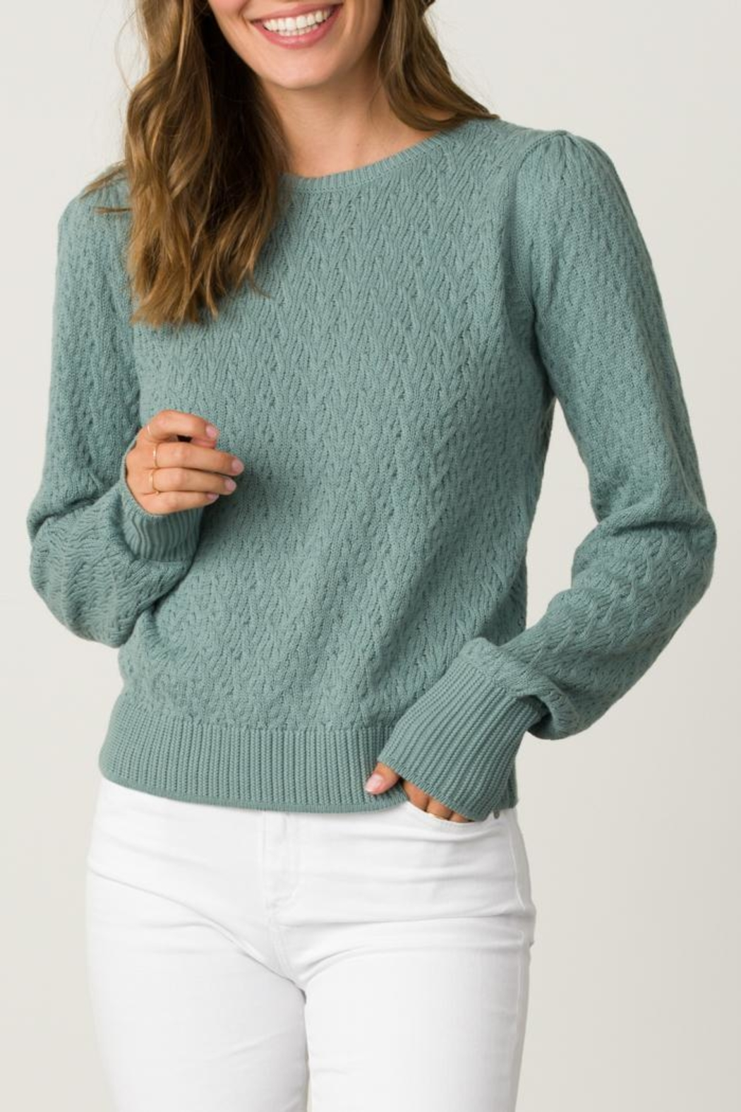 Margaret O'Leary Tracy Pullover - Front Cropped Image