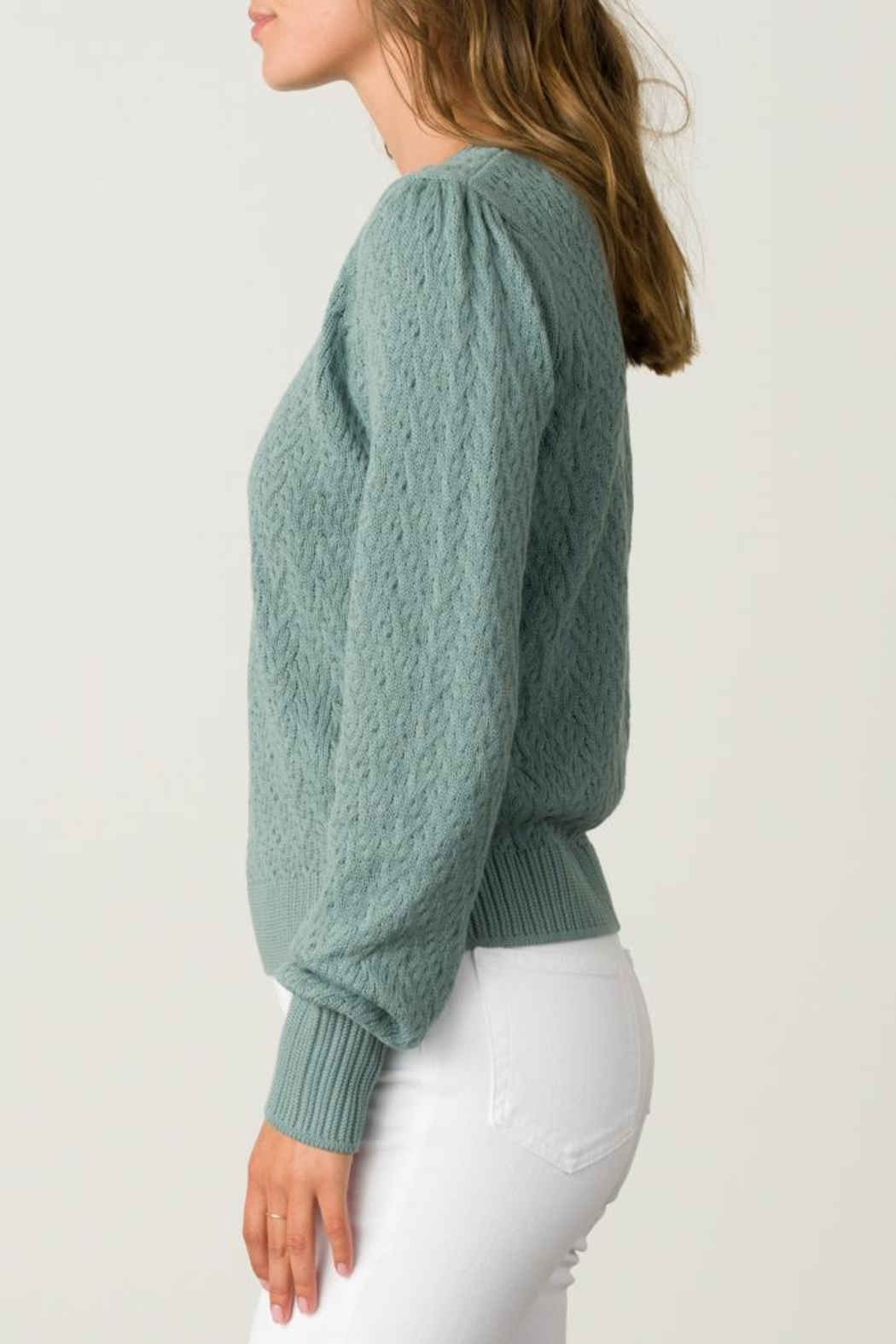 Margaret O'Leary Tracy Pullover - Front Full Image