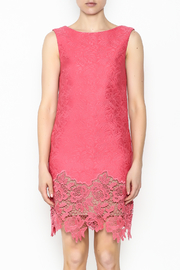 Tracy Reese Ella Lace Sheath Dress - Front full body