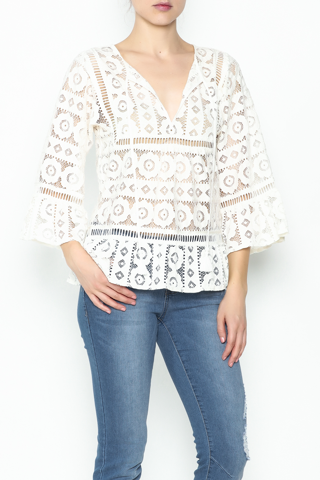 Tracy Reese Lace Blouse - Main Image
