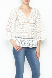 Tracy Reese Lace Blouse - Product Mini Image