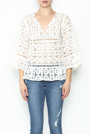 Tracy Reese Lace Blouse - Front full body
