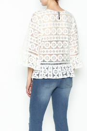 Tracy Reese Lace Blouse - Back cropped