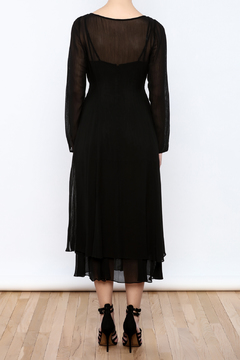Shoptiques Product: Sheerness In Layers Dress