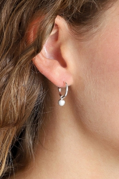 Pilgrim Tracy Silver-Plated Earrings - Product List Image