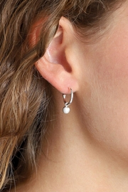 Pilgrim Tracy Silver-Plated Earrings - Product Mini Image