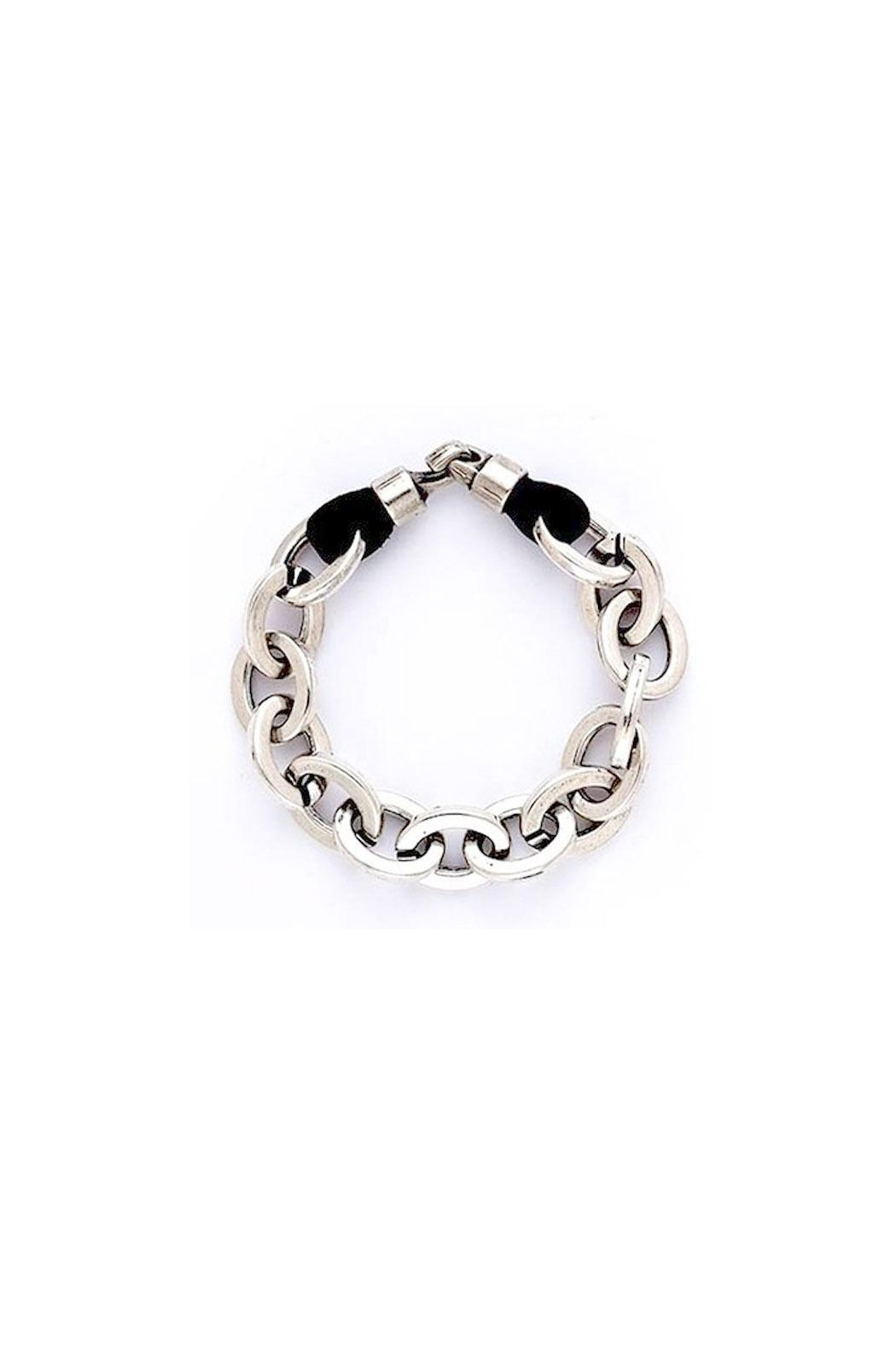 Trades of the East Silver Chain Bracelet - Main Image