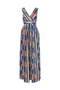 Traffic People Cascade Maxi Dress - Alternate List Image