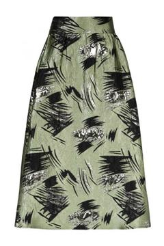 Traffic People High Waist Print Skirt - Alternate List Image
