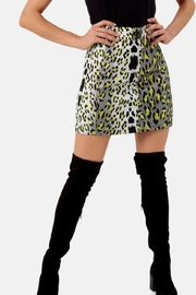 Traffic People Leopard Print Miniskirt - Product Mini Image