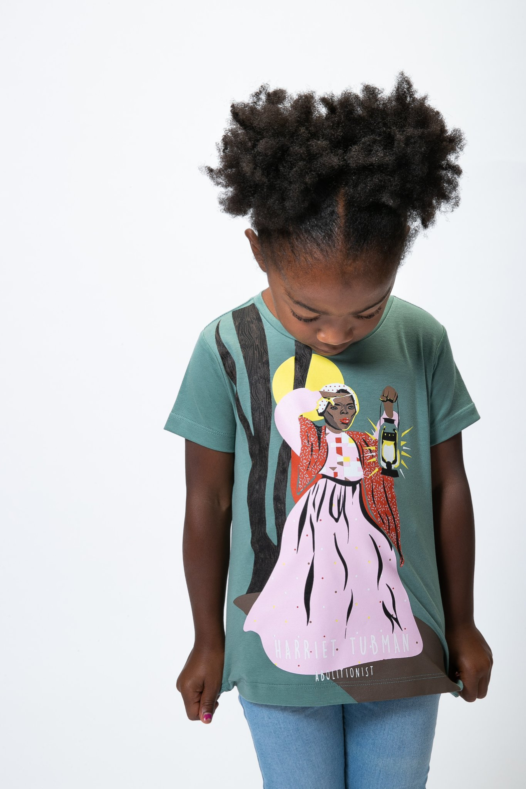 Piccolina Kids Trailblazer Tee - Harriet Tubman - Front Full Image