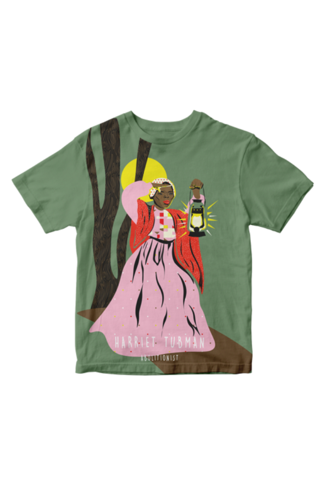 Piccolina Kids Trailblazer Tee - Harriet Tubman - Main Image