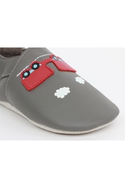 Bobux Train-Carriage Soft-Sole Slippers - Back cropped
