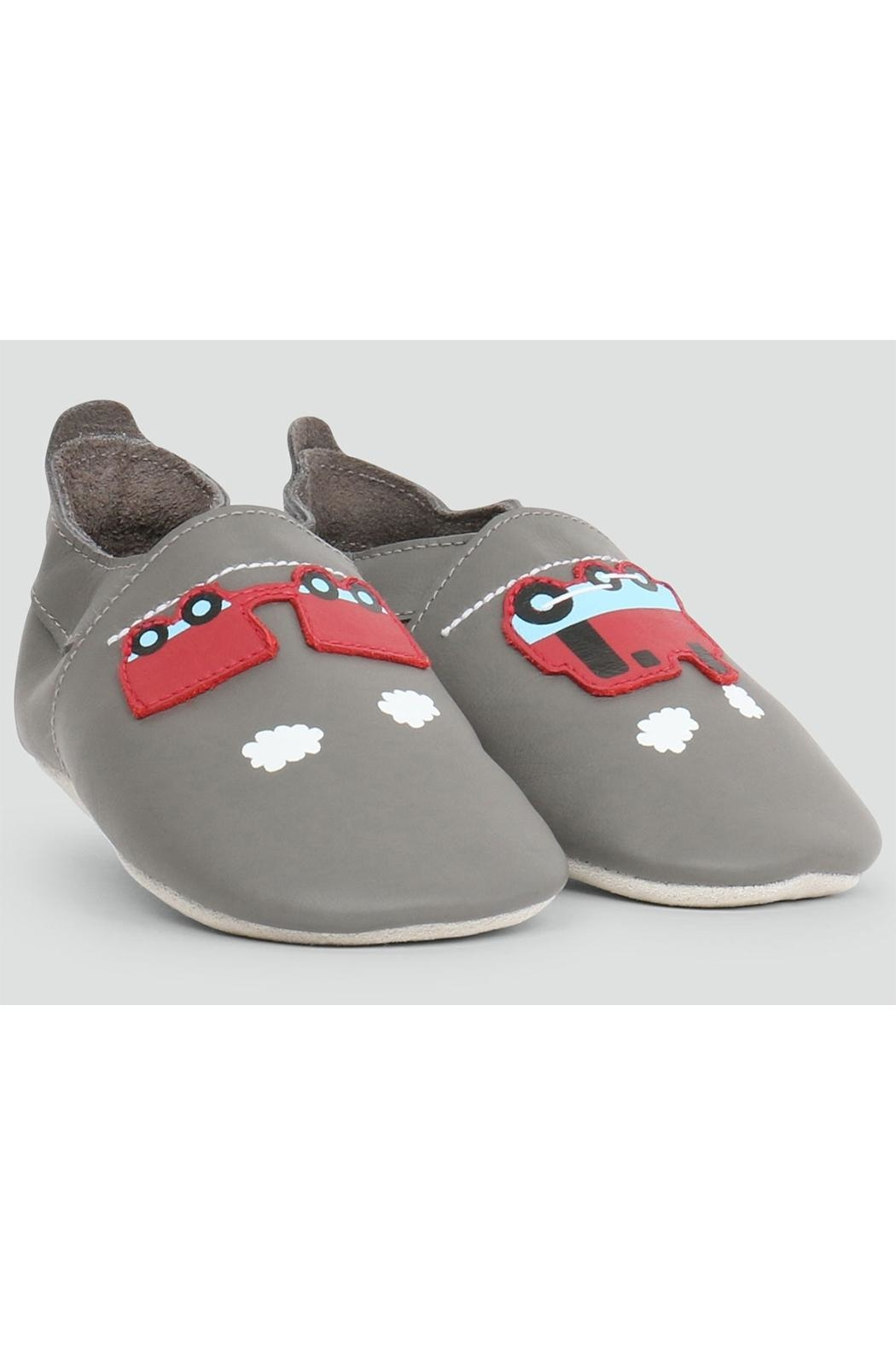 Bobux Train-Carriage Soft-Sole Slippers - Main Image