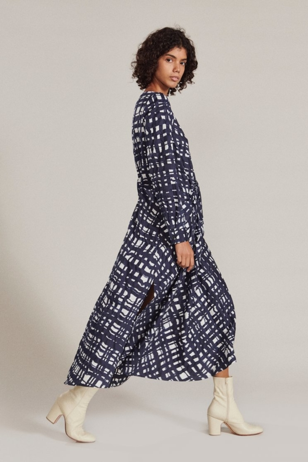 Rachel Comey Tranch Dress - Side Cropped Image