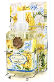 Michel Design Works Tranquility Foaming Soap & Napkin Set - Product Mini Image