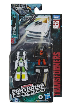 Hasbro Transformers Toys Generations War for Cybertron: Earthrise Micromaster WFC-E3 Hot Rod Patrol 2-Pack - Product List Image