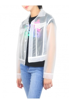 Tractr Transparent Rain Jacket - Alternate List Image