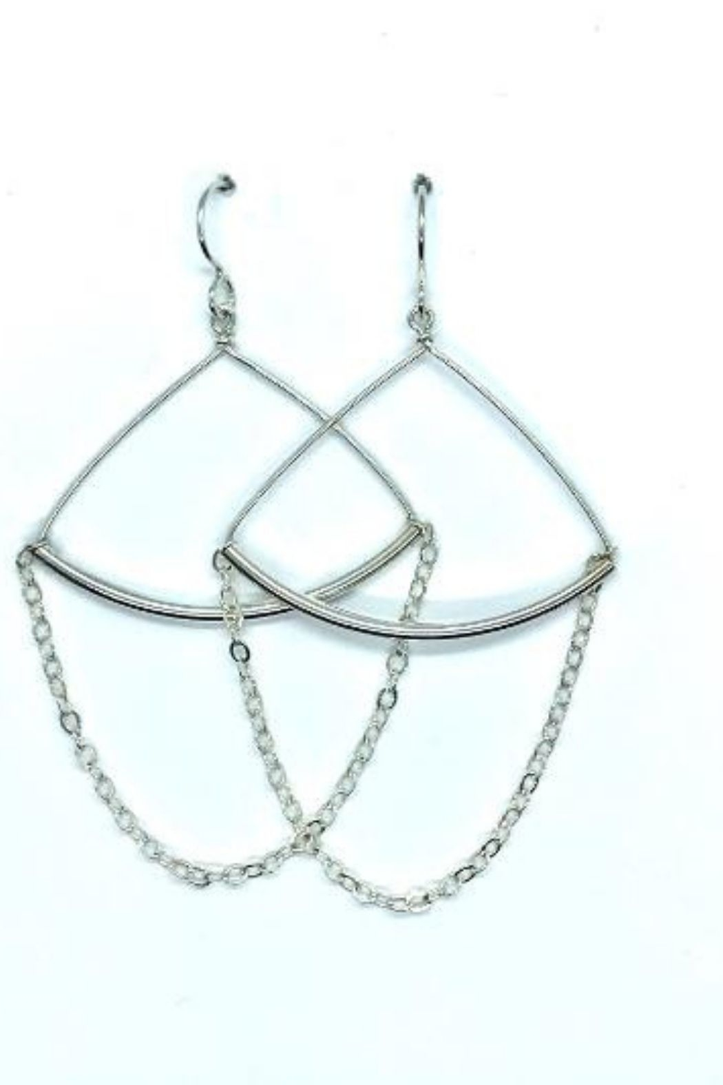 Lotus Jewelry Studio Trapeze Earrings - Front Full Image