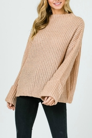 Pretty Little Things Trapeze Swing Sweater - Front cropped