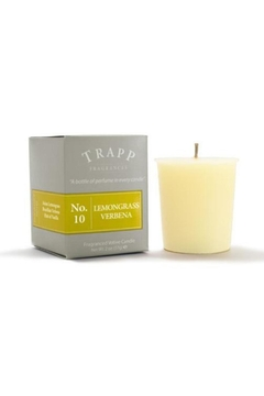 Trapp Candles Lemongrass Verbena - Alternate List Image