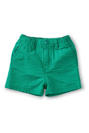 Tea Collection Travel Baby Shorts - Front cropped