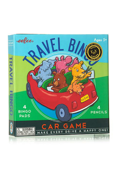Shoptiques Product: Travel Bingo Car Game