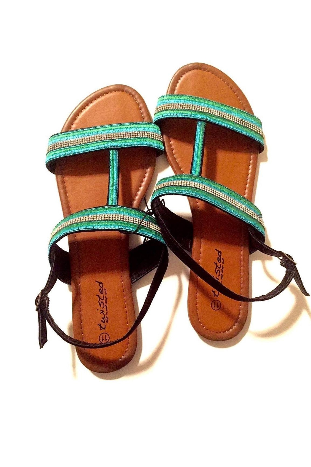 Love's Hangover Creations Travel Blogger Sandals - Front Full Image