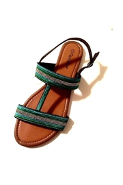 Love's Hangover Creations Travel Blogger Sandals - Front cropped