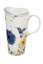 Evergreen Enterprises Travel Cup Floral-Garden - Product Mini Image