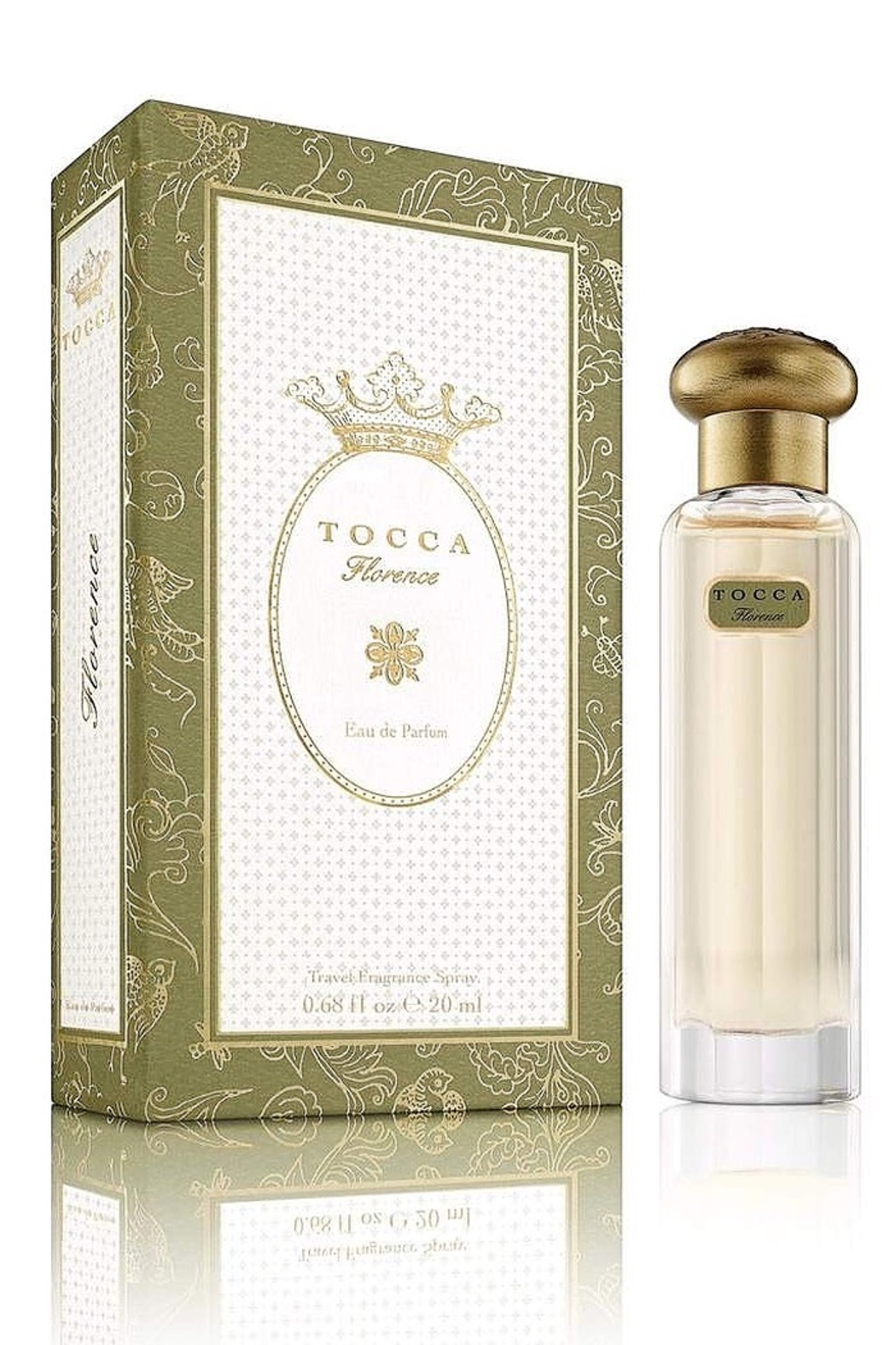Tocca Travel Fragrance Spray Florence Perfume - Front Full Image