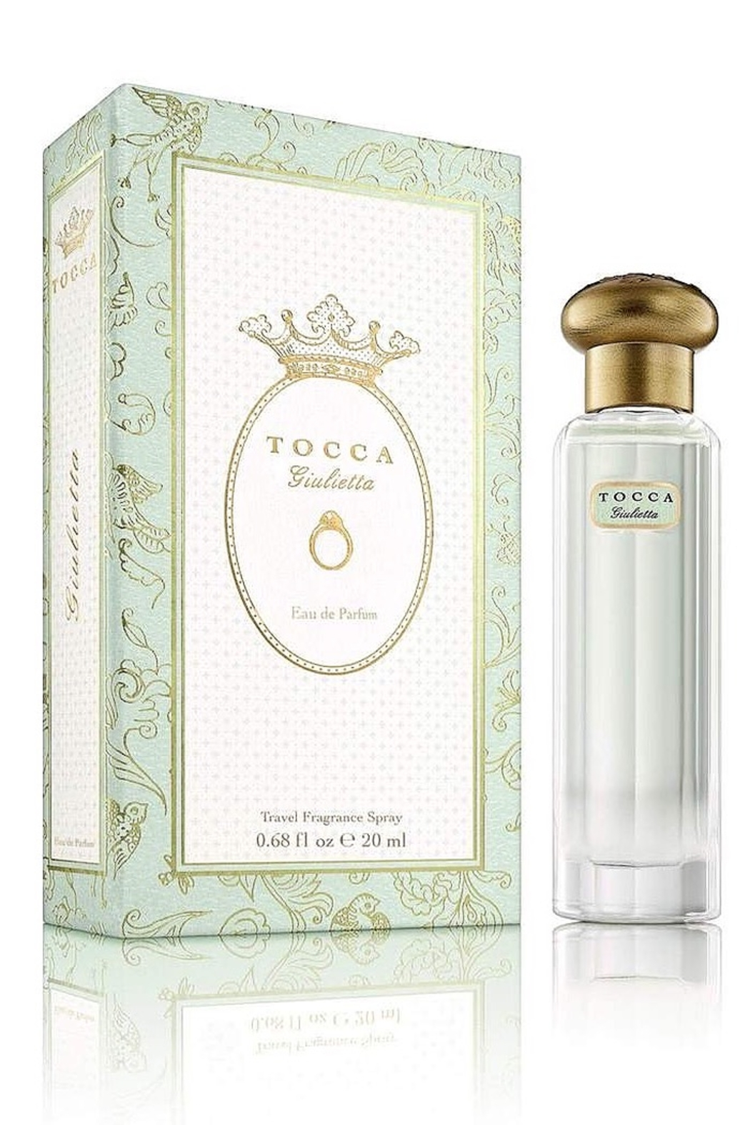 Tocca Travel Fragrance Spray Giulietta Perfume - Front Full Image
