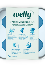 Welly Travel Medicine Kit - WELLY REMEDIES - Product Mini Image