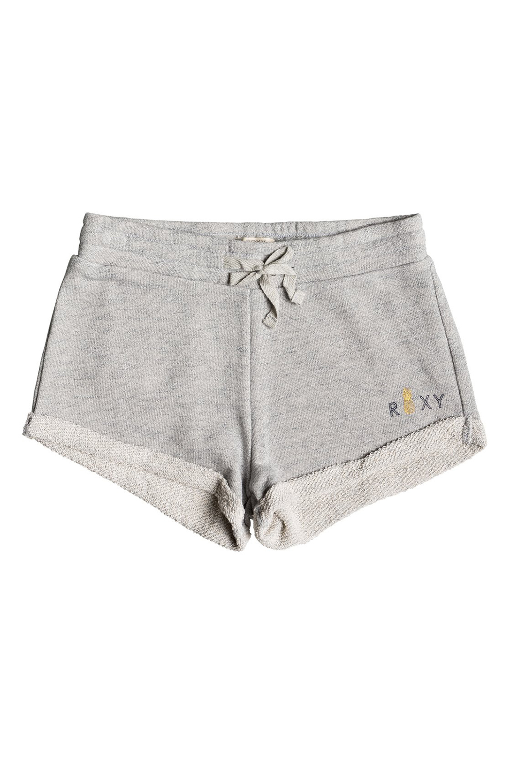 Roxy Travel Often Heather A Sweat Shorts - Front Cropped Image