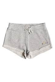 Roxy Travel Often Heather A Sweat Shorts - Front cropped